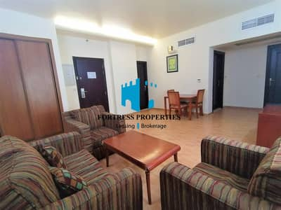 1 Bedroom Flat for Rent in Al Salam Street, Abu Dhabi - Sophisticated SEMI-Furnished Apartment | 1BHK | AFFORDABLE PRICE !!