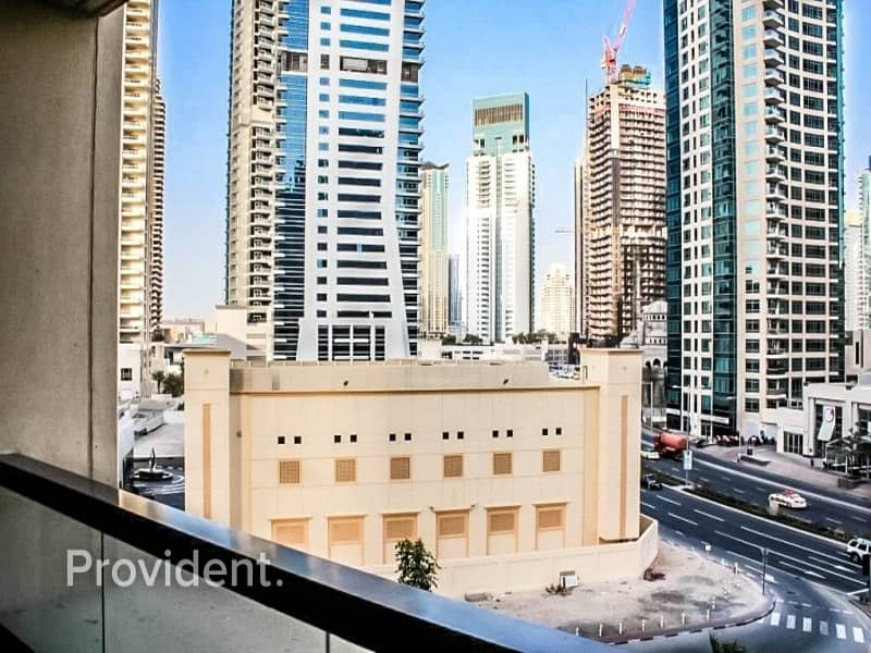 15 Partly furnished unit with Spectacular Marina View
