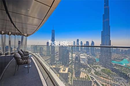 شقة 4 غرف نوم للايجار في وسط مدينة دبي، دبي - Stunning Views - Prime Location - Easy To View