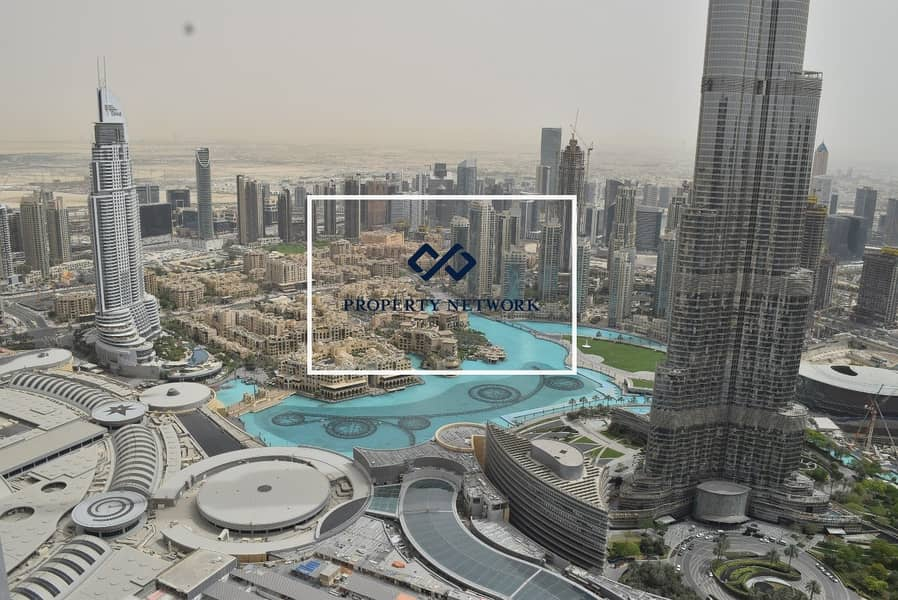 Exclusive | Full Burj and Fountain View | Sky Collection