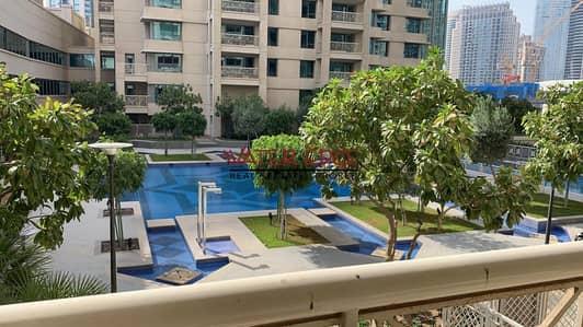 شقة 1 غرفة نوم للايجار في وسط مدينة دبي، دبي - Large Balcony I 1BR I Pool Facing