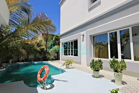 5 Bedroom Villa for Rent in Al Quoz, Dubai - Very Beautiful 5 Bed Villa With Private Pool
