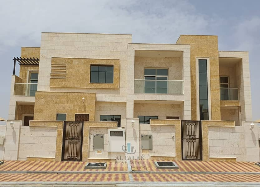 Brand New 5 Bedrooms Villa For Rent in Al Hoshi