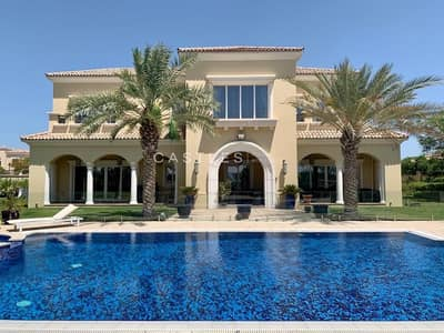6 Bedroom Villa for Rent in Arabian Ranches, Dubai - Customized Type D- Polo Homes- 7 bed+maids+drivers
