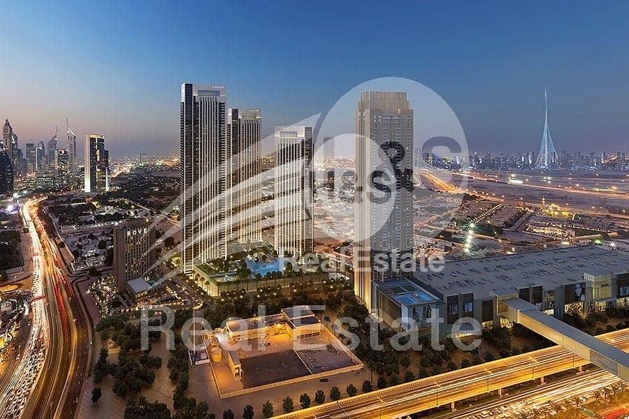 2 Stunning views of Za'abeel | High Floor!
