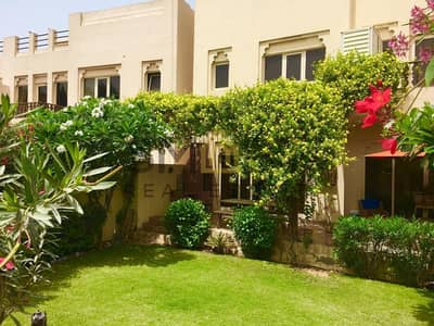 3 Bedroom Townhouse for Sale in Al Hamra Village, Ras Al Khaimah - Upgraded | Facing the Swimming Pool | Close to Mall