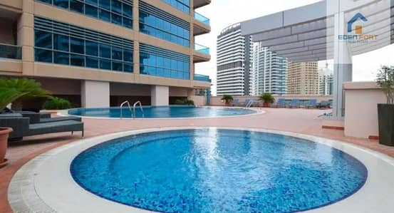 شقة 1 غرفة نوم للايجار في دبي مارينا، دبي - 1 BHK | Pool View  | Al Thayyal 1 | Greens..