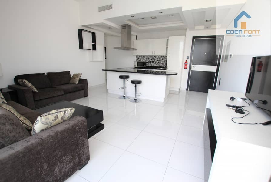 Italian Design Golf View Furnished 2BHK Pay Monthly