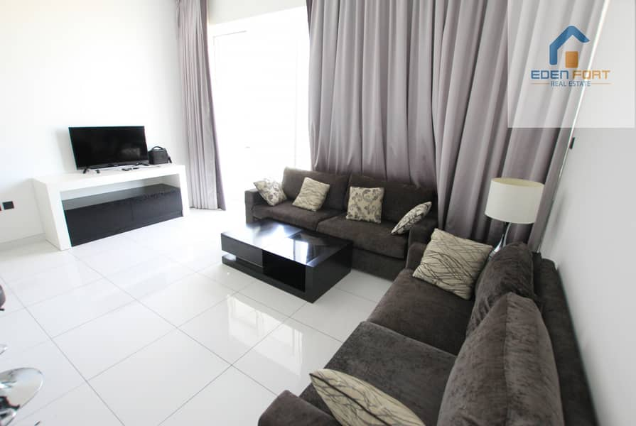 2 Italian Design Golf View Furnished 2BHK Pay Monthly