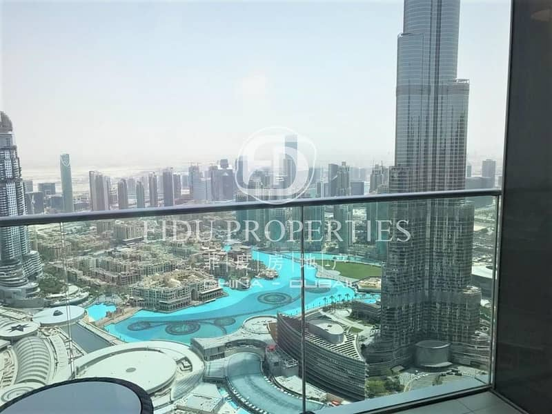 High Floor | Furnished | Access to Dubai Mall