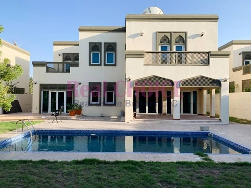 Maintenance Covered Landscaped|5BR Regional Type Villa