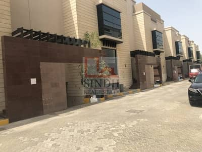 5 Bedroom Villa for Rent in Al Manaseer, Abu Dhabi - Compound main entrance