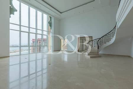 6 Bedroom Penthouse for Rent in Palm Jumeirah, Dubai - Palm Sea Views | Luxury Modern Penthouse