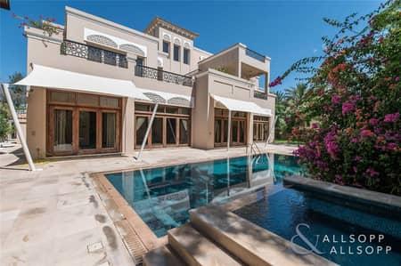 6 Bedroom Villa for Sale in Al Barari, Dubai - Type B | Vacant | Plot Extension Possible
