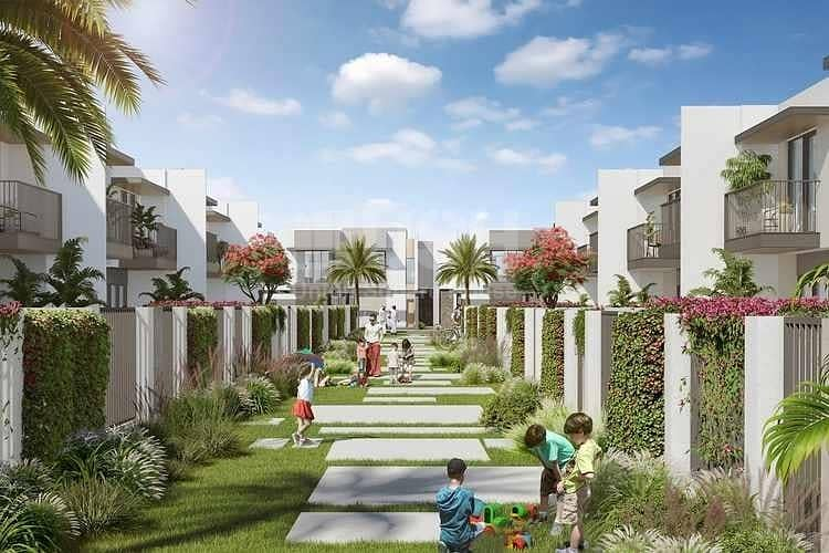2 cheapest townhouse / 2%DLD Waiver / 3years post handover payment plan