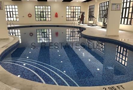 4 Bedroom Villa for Rent in Al Manaseer, Abu Dhabi - swimming pool