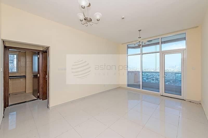 Lovely 1BR w/Balcony | High Floor | Al Manara