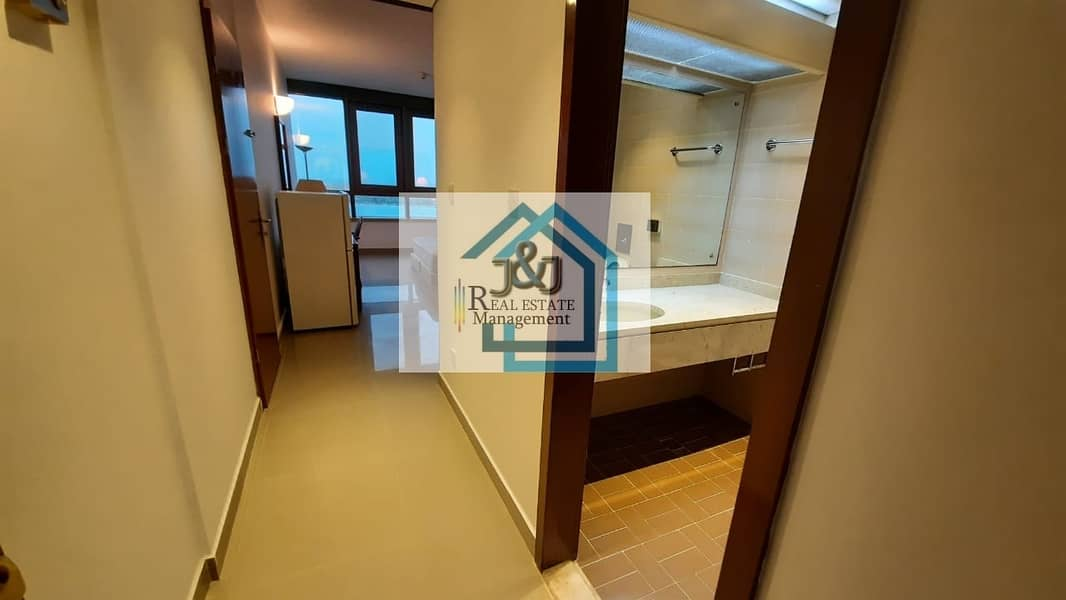 2 Studio Furnished Water Electricity Included Corniche Area