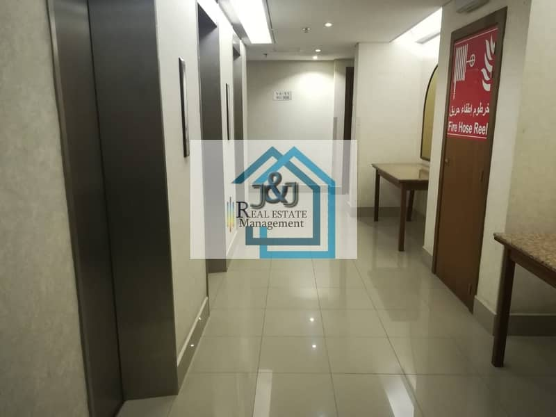 10 Studio Furnished Water Electricity Included Corniche Area