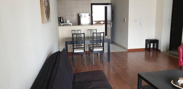 فلیٹ 1 غرفة نوم للايجار في أبراج بحيرات الجميرا، دبي - Fully furnished apartment with amazing view