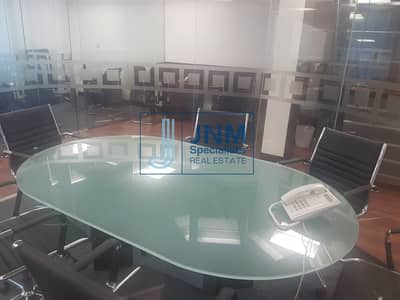 Office for Sale in Jumeirah Lake Towers (JLT), Dubai - Close to Metro   Fully Fitted Office   Lake View