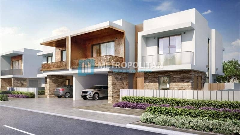 Ready to move Brand New 2 BR  TH in Yas