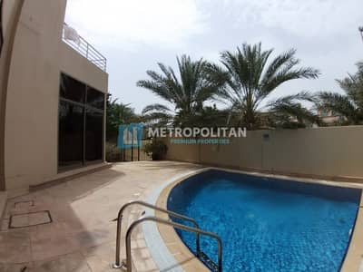 6 Bedroom Villa for Rent in Khalifa City A, Abu Dhabi - Modern 5 bedroom villa with private swimming pool for 240K