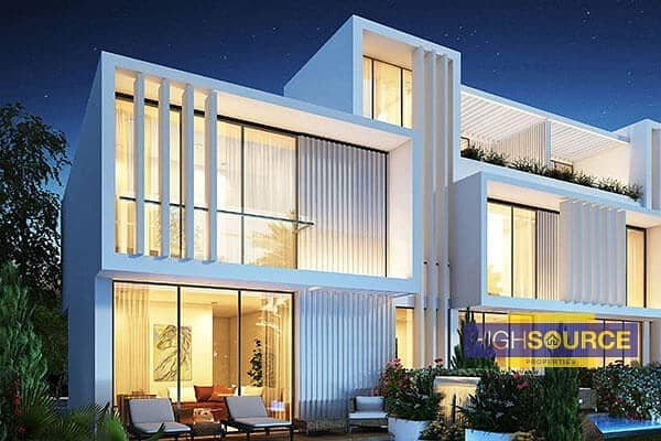 Luxury 3 Bedrooms vills on Payment Plan at Akoya Oxygen.