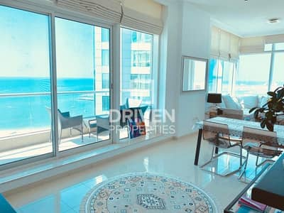 1 Bedroom Flat for Sale in Dubai Marina, Dubai - Vacant 1 Bedroom Unit with Full Sea View