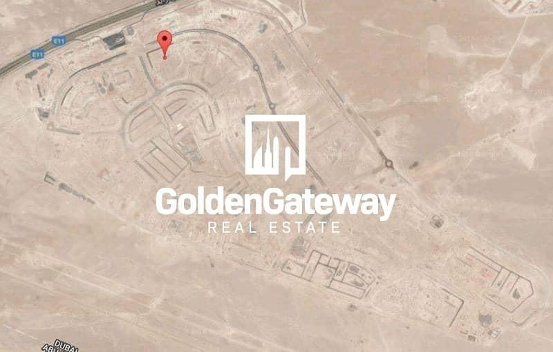 Corner !!! G+1 Villa Plot In Jebel Ali Hills