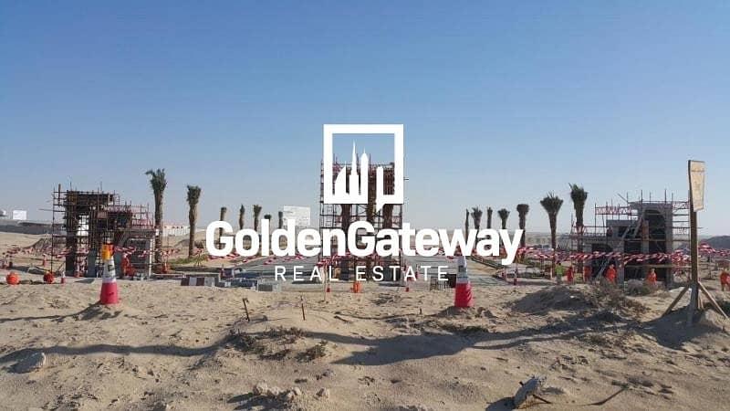2 Corner !!! G+1 Villa Plot In Jebel Ali Hills