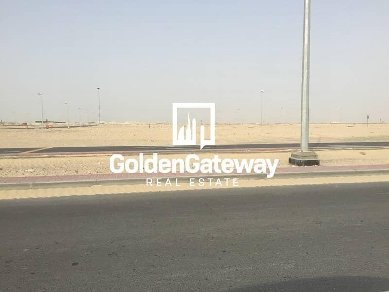 6 Corner !!! G+1 Villa Plot In Jebel Ali Hills