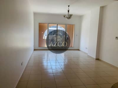 1 Bedroom Flat for Rent in Jumeirah Village Circle (JVC), Dubai - LOOK AT SIZE NICE VIEW ONE BEDROOM ONLY 40/K