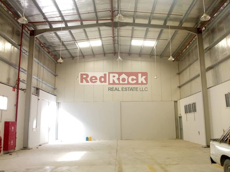 3400 Sqft with 25 KW Power in Jebel Ali fro AED 22/sqft Only