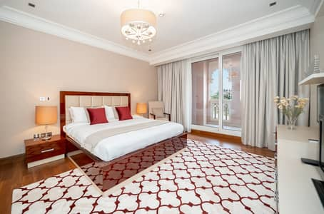 2 Bedroom Apartment for Rent in Palm Jumeirah, Dubai - Modern Full Sea View 2 BR apt, Beach access