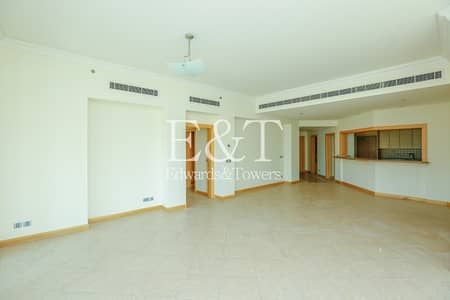 3 Bedroom Flat for Rent in Palm Jumeirah, Dubai - Unfurnished 3 BR in Shoreline