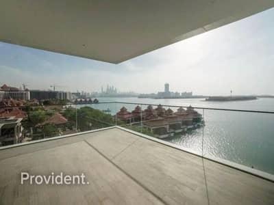 بنتهاوس 3 غرف نوم للبيع في نخلة جميرا، دبي - Corner Unit | Breathtaking Views of Sea and Pool