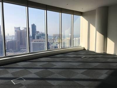 مکتب  للايجار في برشا هايتس (تيكوم)، دبي - Full Sea View Furnished Fitted Office with Pantry
