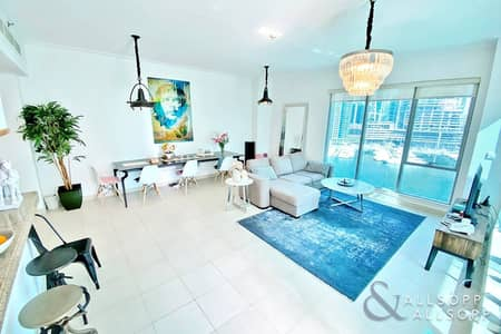 2 Bedroom Flat for Sale in Dubai Marina, Dubai - Two Bed | Marina Views | Largest Layout