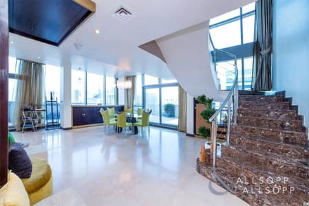 4 Bedroom Penthouse for Sale in Jumeirah Lake Towers (JLT), Dubai - Duplex Penthouse | Fully Upgraded |Terrace