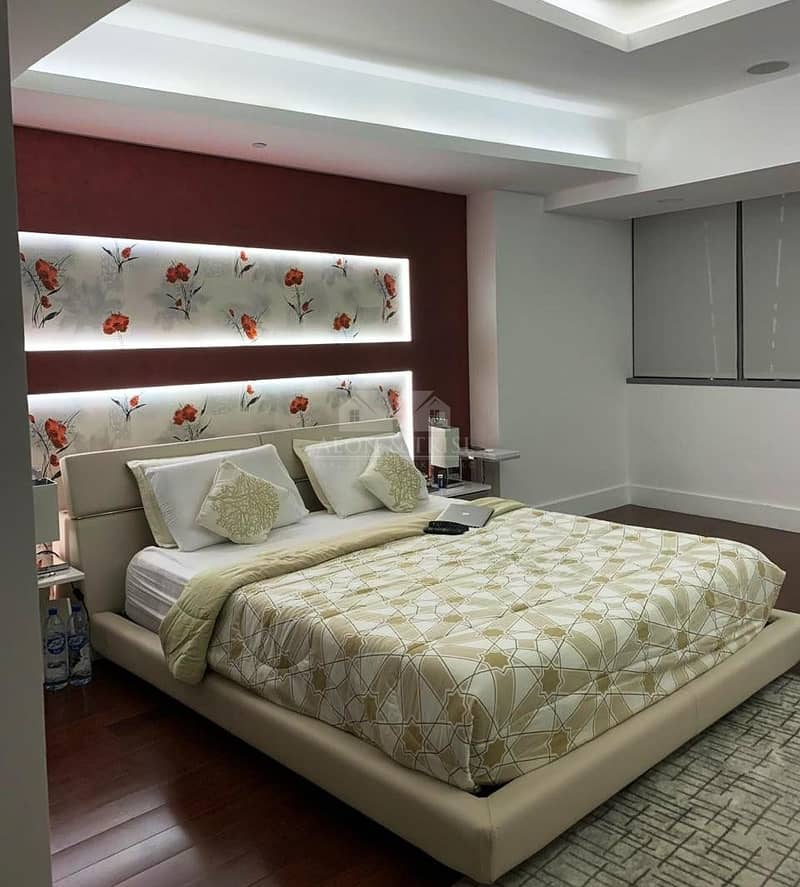 14 Fully Upgraded | Furnished 3 Bed plus Maid