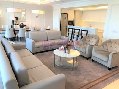 Luxurious 4BR + M Hotel Apartment Fully Furnished