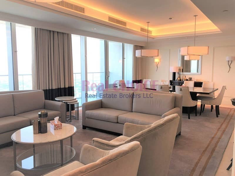 2 Luxurious 4BR + M Hotel Apartment Fully Furnished