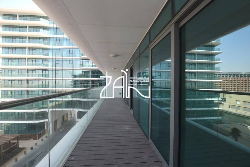 Furnished Full Sea View 2 BR Apt with Balcony