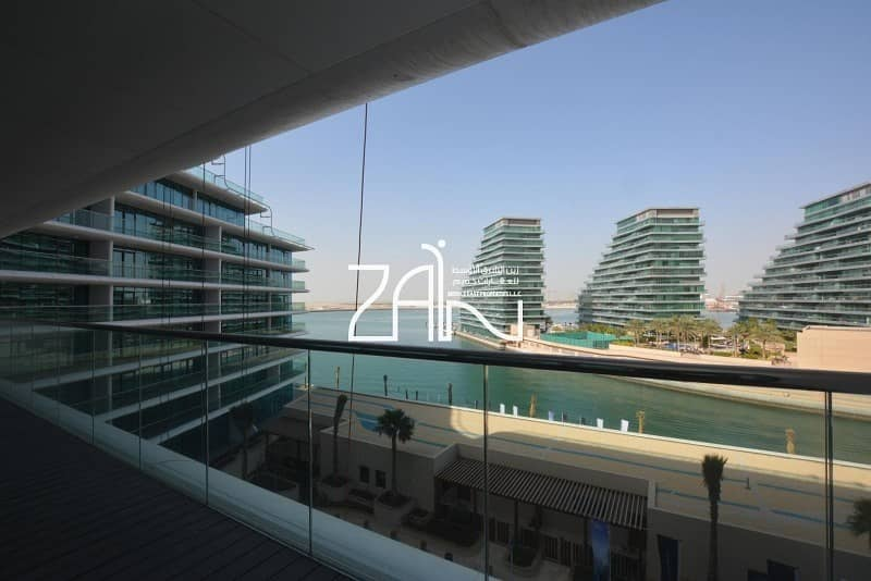 2 Furnished Full Sea View 2 BR Apt with Balcony