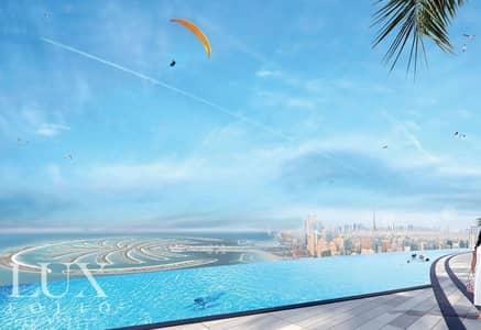 شقة 2 غرفة نوم للبيع في جميرا بيتش ريزيدنس، دبي - ReSale R2G Type | Exclusive | High Floor