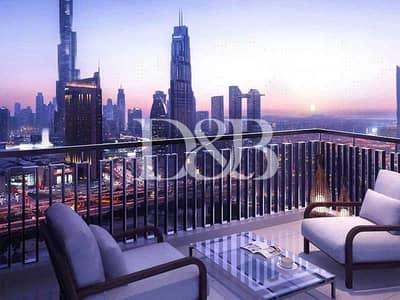 شقة 2 غرفة نوم للبيع في وسط مدينة دبي، دبي - Genuine Resale | Open To Offers | Very High Floor