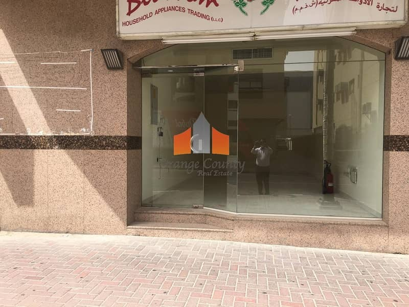 MAIN ROAD FACING SHOP AVAILABLE AND WALKING DISTANCE TO ADCB METRO STATION.