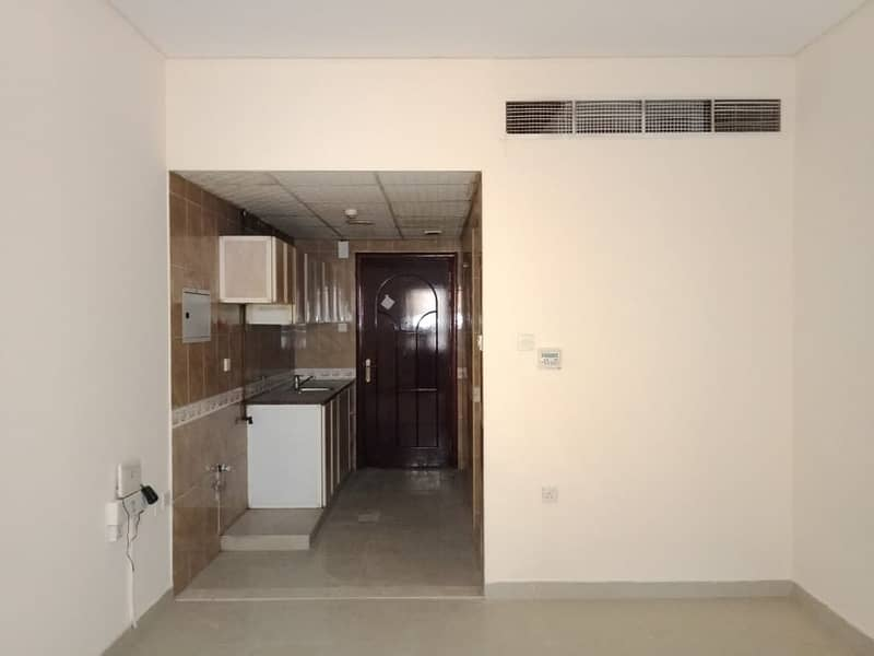 Big Ideal Studio Only 12K with Central Ac/Close Kitchen/Main Location National Paint Muwaileh