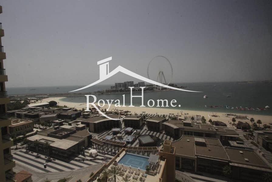 3Br Unfurnished | Sea & Marina View | New Unit